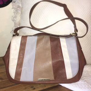 Relic shoulder handbag brown large used